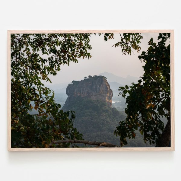 Thousandtravelmiles Prints Lions Rock Sri Lanka