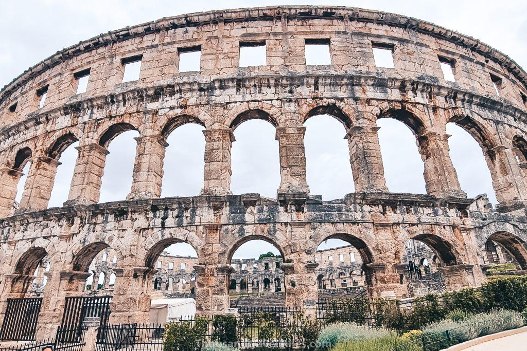 Dagtrip vanuit Rovinj - Romeinse Arena, Pula
