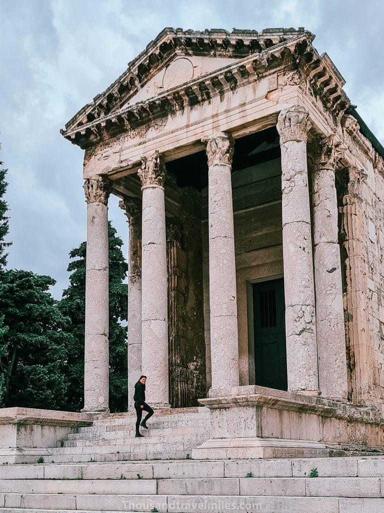 Pula, tempel van Augustus