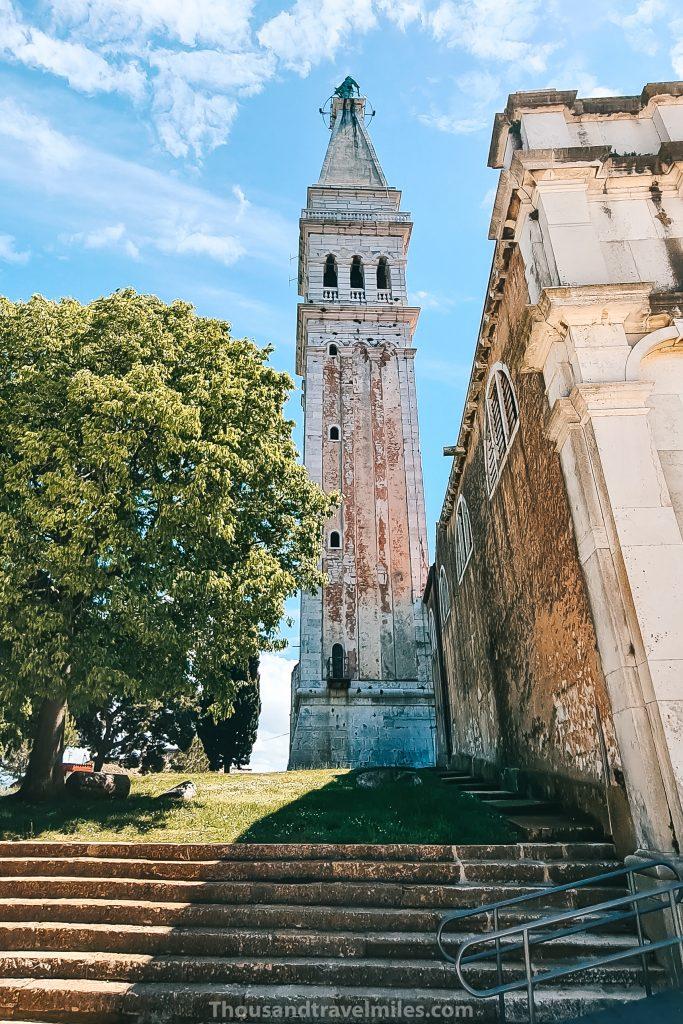 Rovinj St. Euphemia kerk, Kroatië