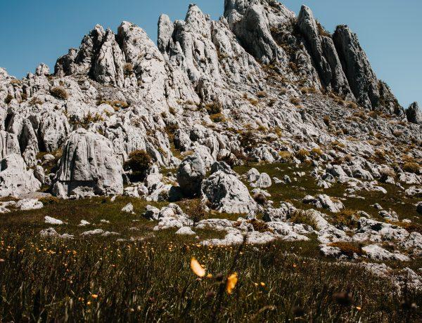 Tulove Grede in het Velebit gebergte, Kroatie